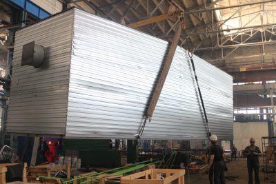 Блочно-модульные здания — с верхней строповкой